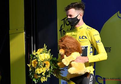 Adam Yates had liever met de pedalen de gele trui veroverd