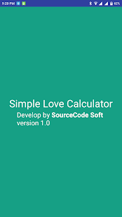 Simple Love Calculator - náhled