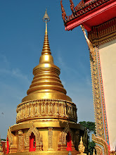 Photo: chedi of Wat Si Thep, Nakhon Phanom