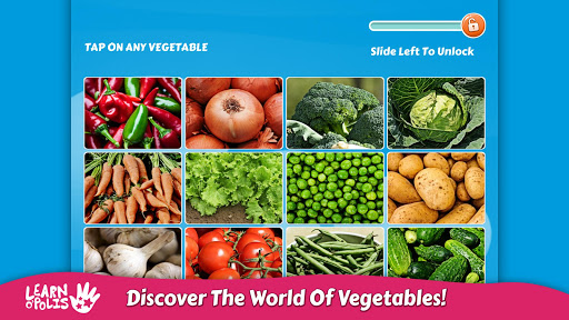 Kids Learn Vegetables