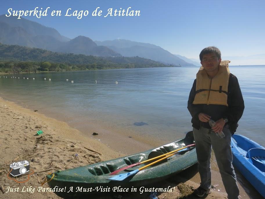 我在阿蒂特蘭湖,瓜地馬拉美得宛如仙境的湖泊!