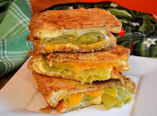 Double Crunch Chile Relleno Monte Cristo Sandwiche Recipe