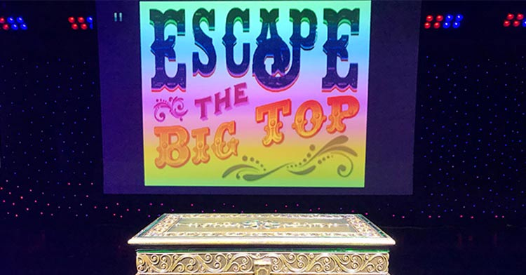 Escape the Big Top is a fairly new game experience on Norwegian Epic.