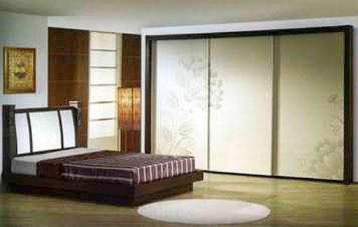 寝室のドアのデザインのアイデア