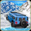 Snow Jeep Drifting Rally icon
