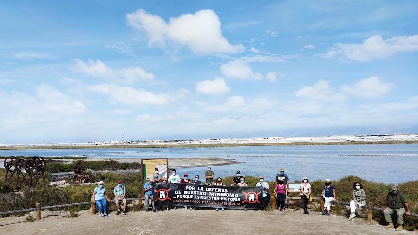 El 10 de octubre se realizó Las Salinas de Poniente: Punta Entinas-Sabinar con José Manuel López Martos.