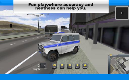 UAZ: Police Jeep