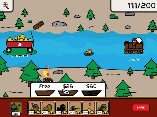 Duck Warfare Juegos para Android screenshot