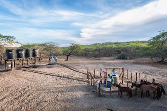 Photo: Perspectiva del bombeo solar - comunidad de Caiciporchi - Uribia