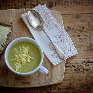 Leek and Broccoli Soup.