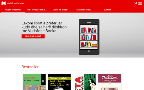 Vodafone Books- screenshot thumbnail