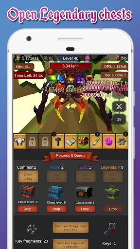 Tap Adventures - an idle clicker game 1.33 Mod screenshots 5