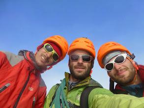 Photo: Photos des summiters sur la première antécime du Phillipsfjellet