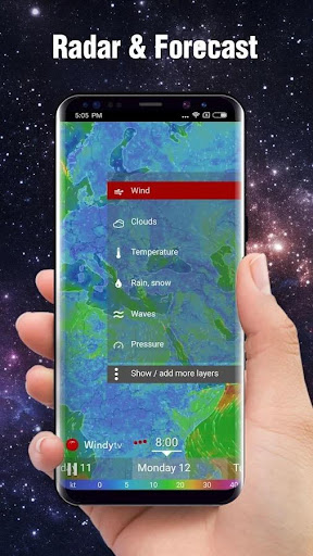 Real-time Weather Report & Live Storm Radar 9.1.2.1521 screenshots 4