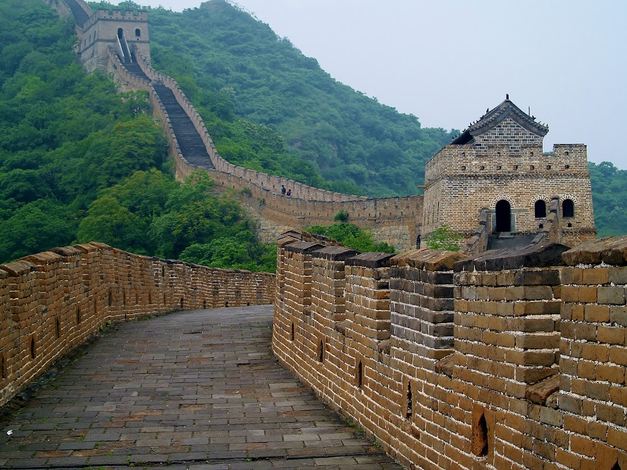 Great Wall by Ester Ayerdi - Buildings & Architecture Public & Historical ( history, city wall, country wall, great wall, architecture, heritage, wall, china,  )