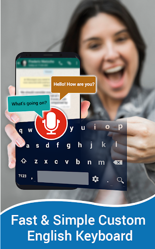 English Voice Typing Keyboard – Speak to text  screenshots 1