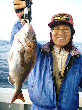 Photo: ナイスサイズの真鯛!