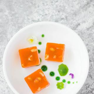 Carrot Halwa Jelly.