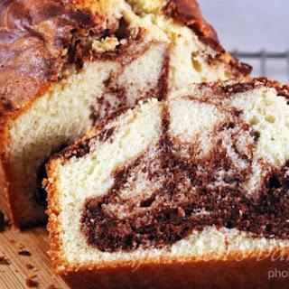 Marble Pound Cake.