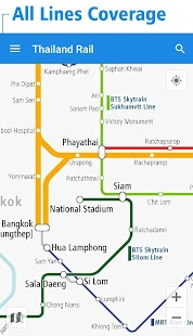 Thailand Rail Map - Bangkok- screenshot thumbnail
