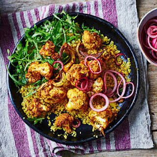 Tandoori Cauliflower And Quinoa Bowl.