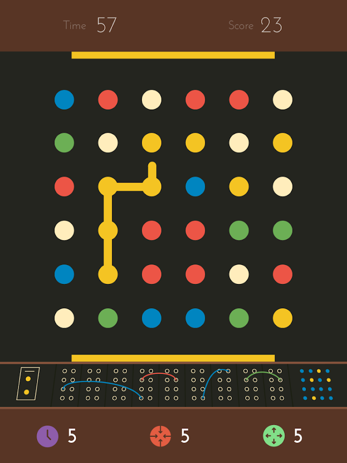 Screenshots of Dots: A Game About Connecting for iPhone