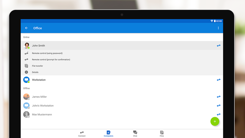 TeamViewer for Remote Control Screenshot 15