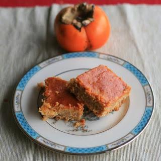 Persimmon Greek Yogurt Cake