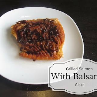 Paleo Grilled Salmon with Balsamic Glaze
