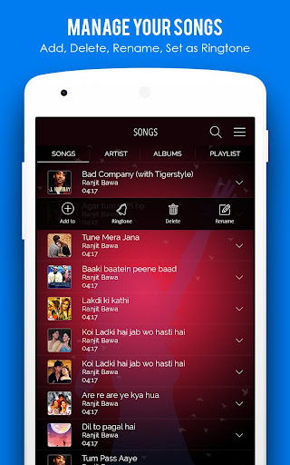 MX Audio Player- Music Player 1.22 screenshots 2