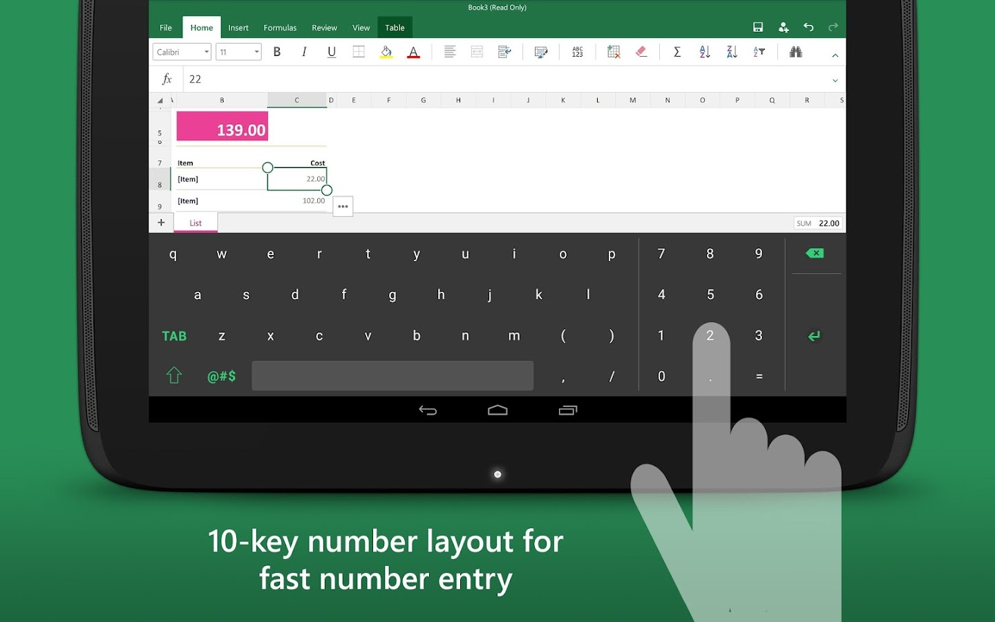 Ediblewildsus  Pleasing Keyboard For Excel  Android Apps On Google Play With Excellent Keyboard For Excel Screenshot With Astonishing Add To A Drop Down List In Excel Also Excel  Online In Addition Excel If Statments And How To Amortize A Loan In Excel As Well As Excel Vlookup Youtube Additionally Excel Test For Normality From Playgooglecom With Ediblewildsus  Excellent Keyboard For Excel  Android Apps On Google Play With Astonishing Keyboard For Excel Screenshot And Pleasing Add To A Drop Down List In Excel Also Excel  Online In Addition Excel If Statments From Playgooglecom