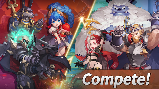 Code Triche WITH HEROES - IDLE RPG APK MOD screenshots 6