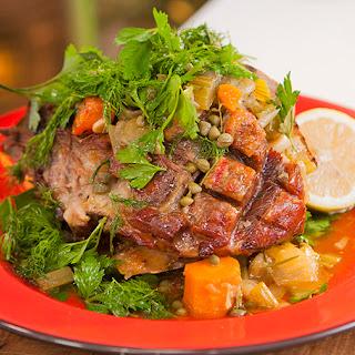 Pot Roast Shoulder of Lamb