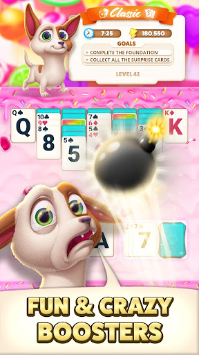 Solitaire Pets Adventure -  Classic Card Game cheat screenshots 3