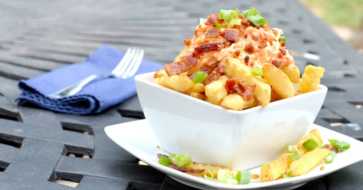Pimento Southern Cheese Fries