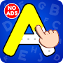 ABC Tracing & Phonics Game for Kids & Preschoolers APK icon