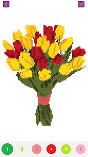 Pixel Draw - Number Art Coloring Book