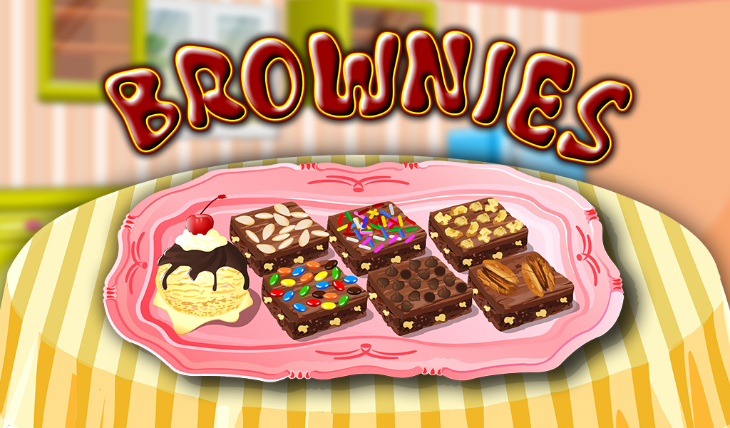 Cooking Game Brownie - screenshot