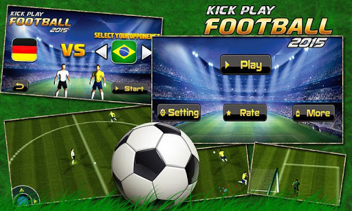 Football Kick Play 2015