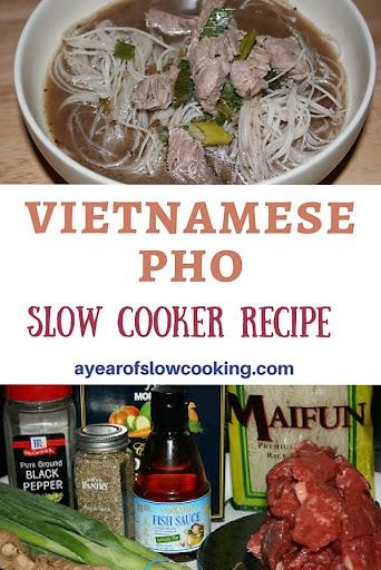 CrockPot Vietnamese Pho Soup