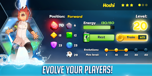 Hoshi Eleven - Top Soccer RPG Football Game 2018 1.0.2 screenshots 3