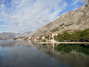 Photo: 80% of Montenegro is mountains.  The country is about the size of Connecticut and a tenth the size of Bosnia and Herzegovina.