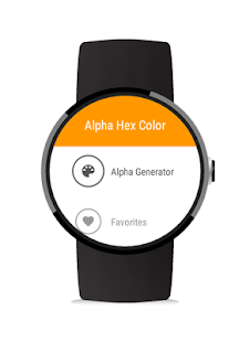 Alpha Hex Color for Android- screenshot thumbnail