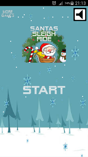 Santa's Sleigh Ride game (apk) free download for Android/PC/Windows screenshot
