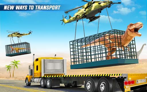 Angry Dino Zoo Transport: Animal Transport Truck 27 screenshots 6