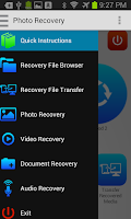 Screenshot of Photo Recovery
