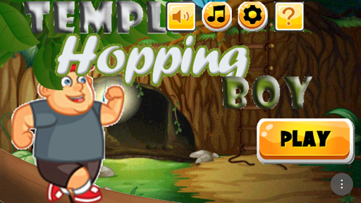 Temple Hopping Boy