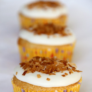 Lemon-German Chocolate Combo Cupcakes