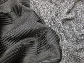 Photo: Ткань:Жаккард шелкс шерстью ш.130см.цена 3000Ткань :трикотаж ш.140см.цена2200руб.