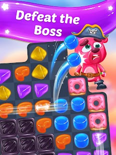 Gummy Paradise -  Free Match 3 Puzzle Game- screenshot thumbnail